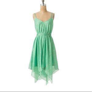 HD in Paris by Anthropologie Green Dress
